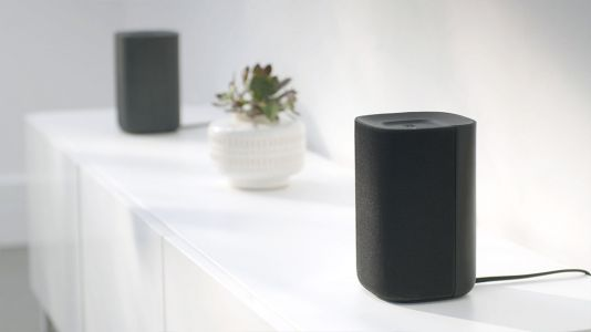 Roku TV Wireless Speakers seamlessly sync to your TV for stereo sound