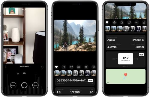 Obscura 2 Debuts Histogram Feature, New Image Metadata Viewer, and iPad Keyboard Shortcuts