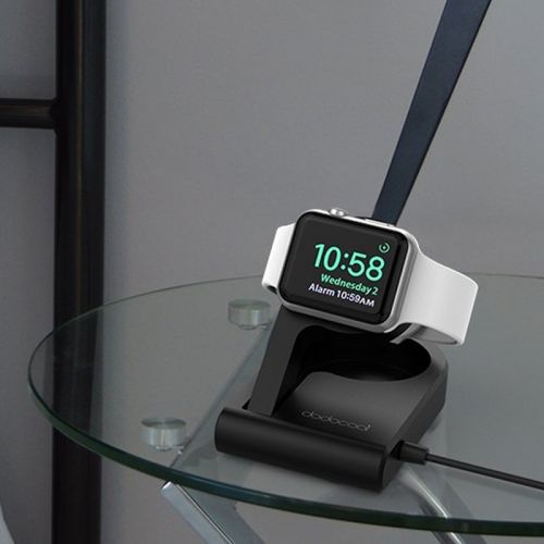 Display and charge your Apple Watch with this $22 compact charging stand