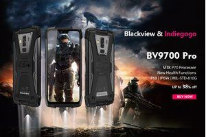 Order the rugged flagship Blackview BV9700 Pro early and save $200!