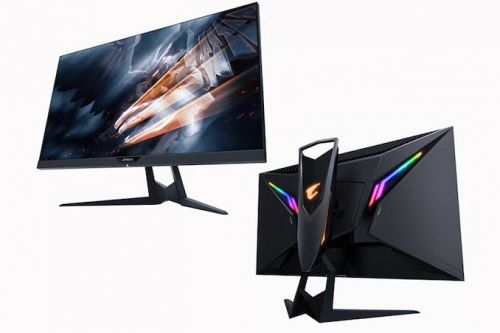 CES 2019: A Monitor from GIGABYTE? The 1440p 144 Hz IPS FreeSync 'Aorus AD27QD'