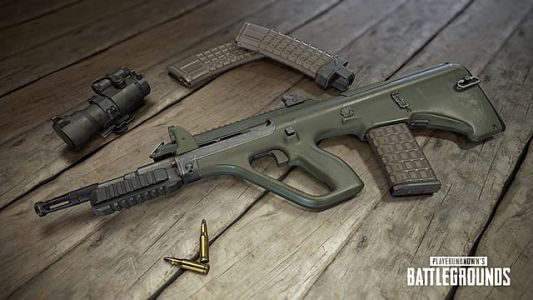 PUBG Guide: AUG A3 New Rifle Stats and Attachments List
