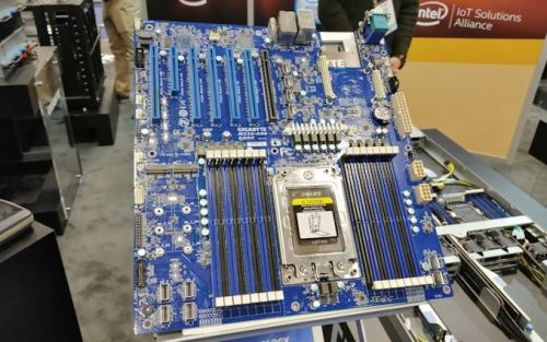First AMD EPYC Rome Motherboard Spotted