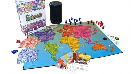 You can travel the world with this Amazon Alexa-powered board game