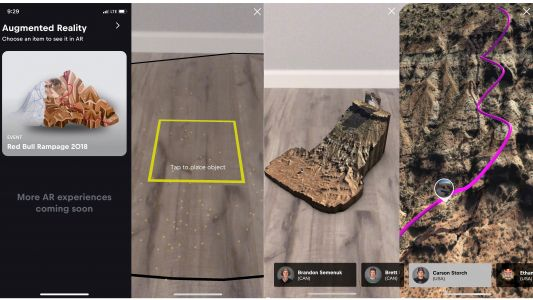 Red Bull's Rampage freeride app puts a virtual mountain in your living room