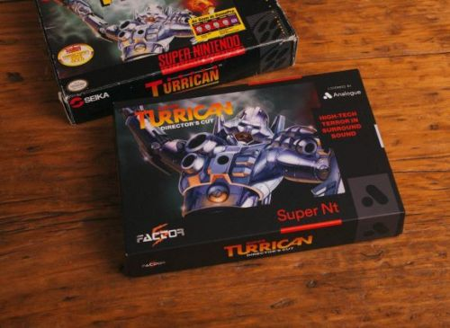 Analogue's Super NT SNES comes with unreleased director's cut of Super Turrican