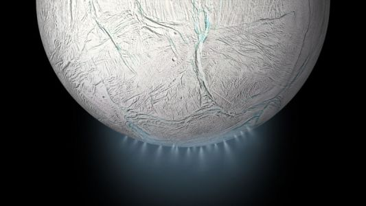 Enceladus heats up because its core is like a sponge