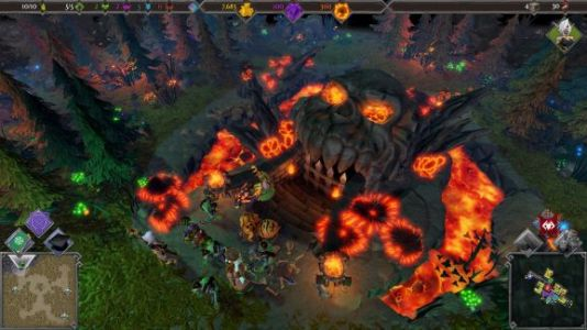 Dungeons 3 takes Warcraft and Dungeon Keeper and makes something new
