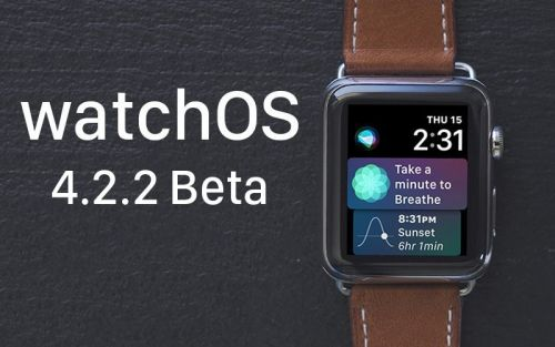 Apple Seeds Fifth Beta of watchOS 4.2.2 to Developers