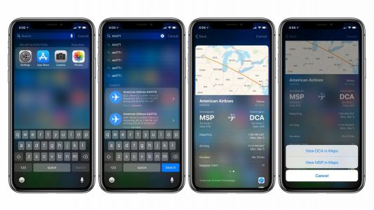 IOS Tip: How to quickly track flights on iPhone and iPad