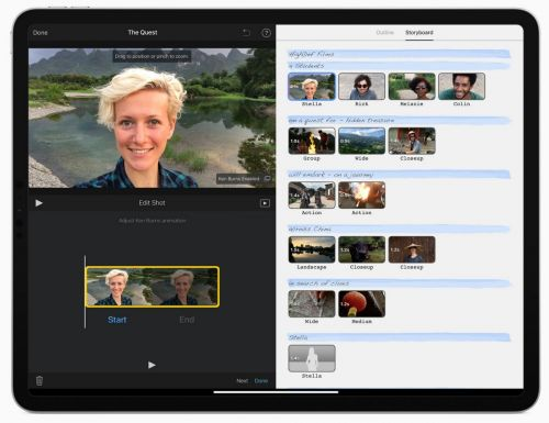 IMovie For iPhones, iPad Updated With New Green Screen Feature