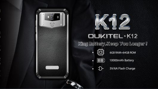 OUKITEL K12 Gets Disassembled, Shows Us Its 10,000mAh Battery: Video