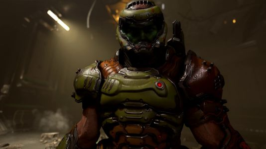 DOOM Eternal gameplay world premiere: Devil horns in the air-literally