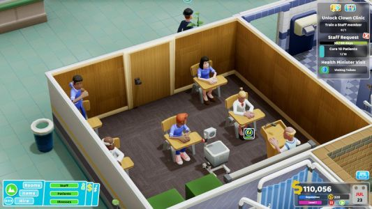 Theme Hospital successor 'Two Point Hospital' lands on Nintendo Switch soon