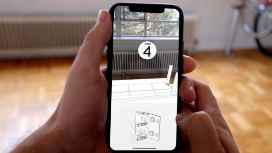 AR app turns your iPhone X into a useful IKEA furniture instruction manual