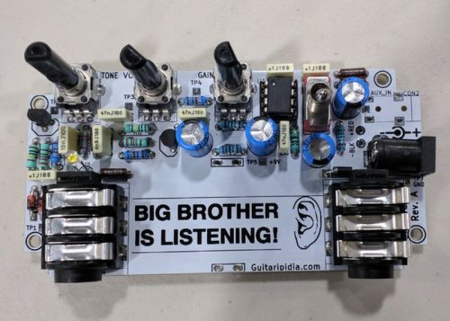 Awesome Defcon 26 Badge And Audio Amplifier Kit