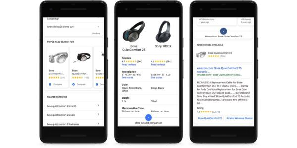 Google Search adds detailed product cards, other shopping tools ahead of Black Friday