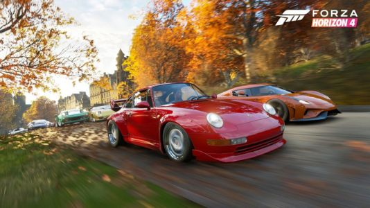 Forza Horizon 4 is the best open-world driving game you can buy