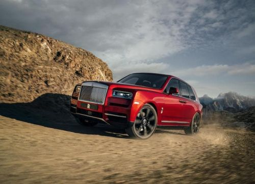 New Rolls Royce Cullinan SUV Launched
