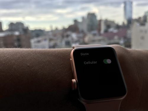 How cellular data works on the Apple Watch