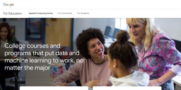 Google pilots Applied Computing Series w/ free machine learning intensive for students