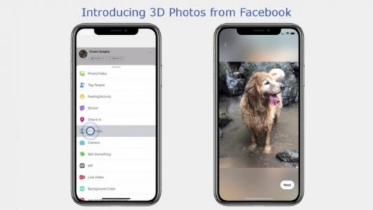Facebook Begins Rolling Out Support For 3D Photos