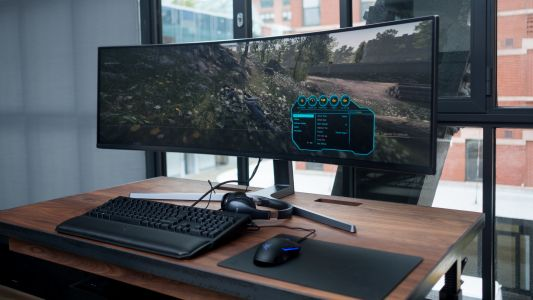 Samsung's new 49-inch monitor ramps up the resolution for ultra-wide perfection