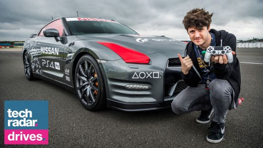 I used a PS4 controller to drive a real car remotely. and it was awesome