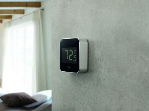 Can I use the Eve Degree with a smart thermostat in HomeKit?