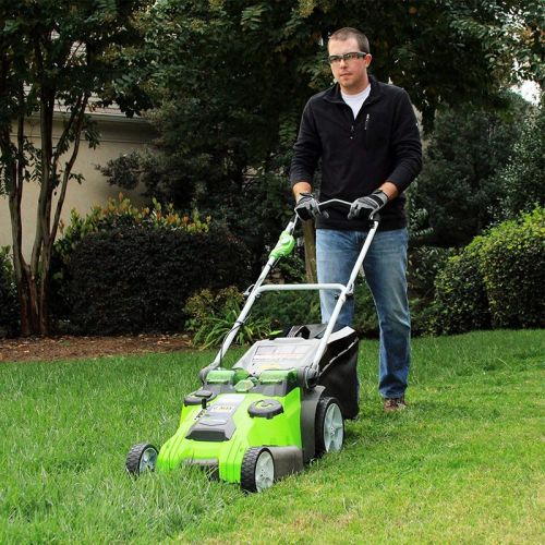 Take care of your lawn more affordably with this one-day Greenworks sale