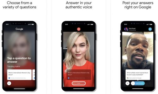 Google's New iOS App 'Cameos' Lets Celebrities Respond to Popular Questions in Search Results