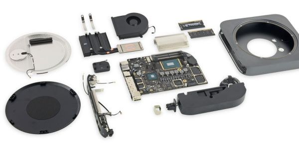 Mac mini iFixit teardown says 6/10 for repairability, with mixed upgrade news