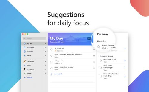 Microsoft To-Do App Now Available on the Mac App Store