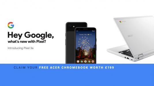 Google Pixel 3a deals are here: get a free Acer Chromebook when you order