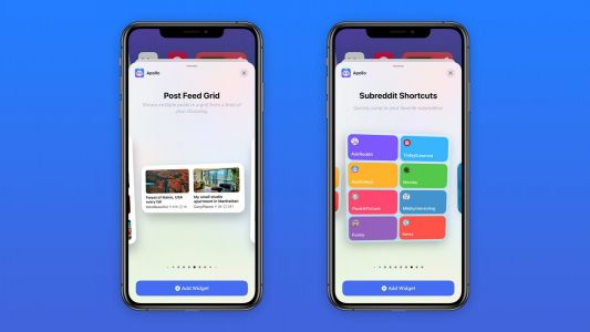 Apollo for Reddit now offers iOS 14 widgets and picture-in-picture support