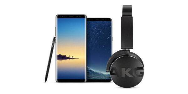 Samsung is now including wireless AKG headphones with a Galaxy S8 or Galaxy Note 8