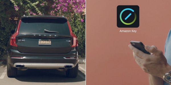 Android app allows Amazon to deliver packages to your unattended car
