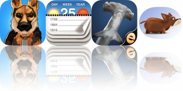 Today's Apps Gone Free: Get 'Em, Calendarium, Shark Puzzles and More