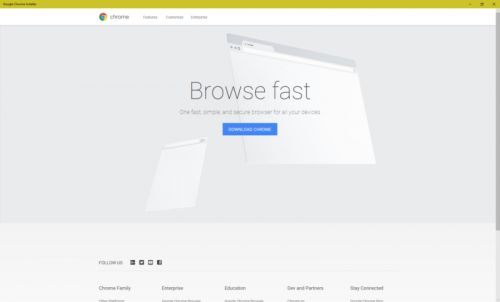 Google brings a Chrome. installer. to the Microsoft Store