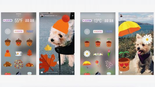 Instagram update brings new seasonal stickers including autumn and spring packs