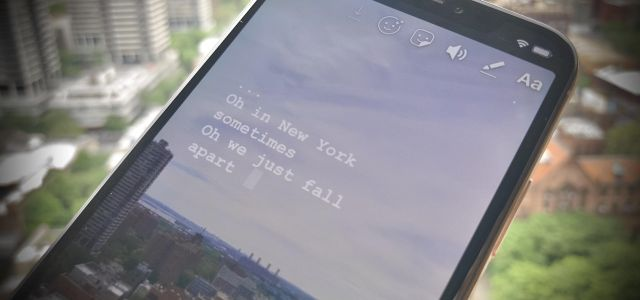 How to Add Song Lyrics to Playing Music in Your Instagram Stories