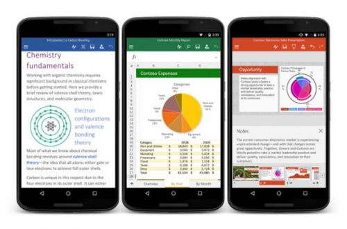 Microsoft Reveals Changes Coming To Office On Android & iOS
