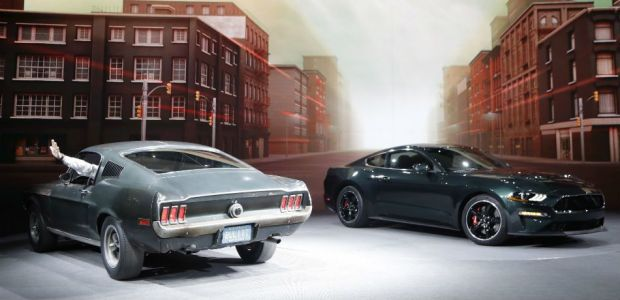Steve McQueen's Bullitt 1968 Mustang GT Vs The New Ford Mustang Bullitt Limited Edition 2019