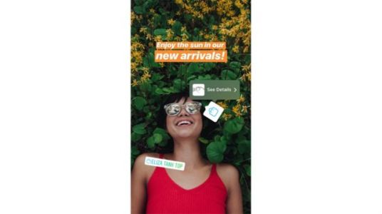 Users Can Now Shop Directly From Instagram Stories