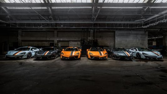 McLaren shows off six special edition supercars
