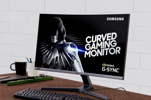 Samsung 240Hz G-Sync compatible curved gaming monitor CRG5 unveiled