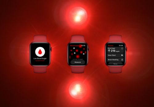 Concept: Visualizing what Apple's blood sugar watch app might look like
