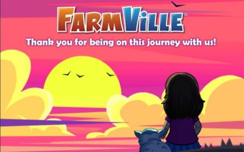 FarmVille shuts down on December 31st