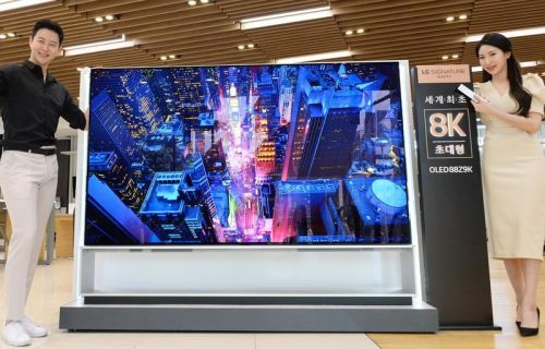 LG kicks off pre-orders of the world's first 8K OLED TV, and it costs $33,800
