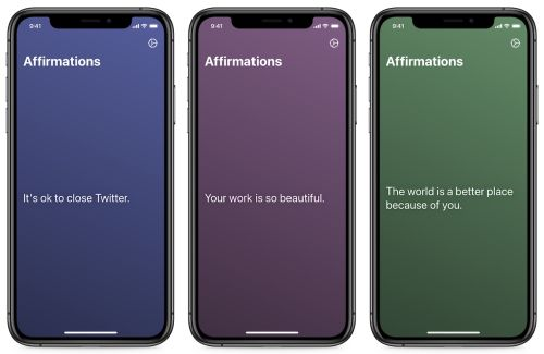 Affirmations App, New MacBook Pro, Curating Your Ideas, and More